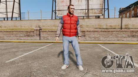 Clothes-back to the future- for GTA 4