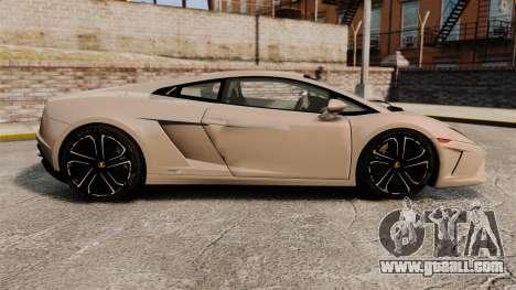 Lamborghini Gallardo 2013 v2.0 for GTA 4 left view