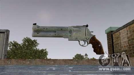 Revolver-Blue Rose- for GTA 4 third screenshot