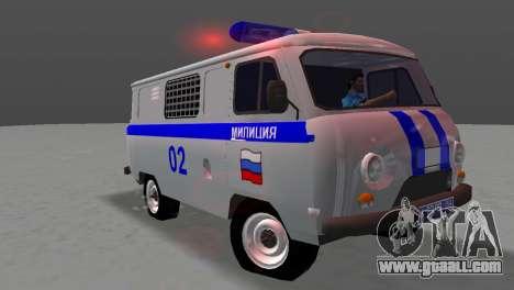 UAZ-3741 AUMONT for GTA Vice City back view