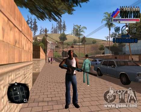 C-HUD Police Gang for GTA San Andreas