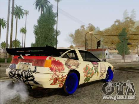 Uranus Grand Chase Texture for GTA San Andreas back left view
