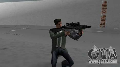 Custom MP5 for GTA Vice City second screenshot