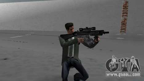 Custom MP5 for GTA Vice City second screenshot