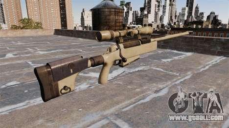 Sniper rifle McMillan TAC-50 for GTA 4 second screenshot