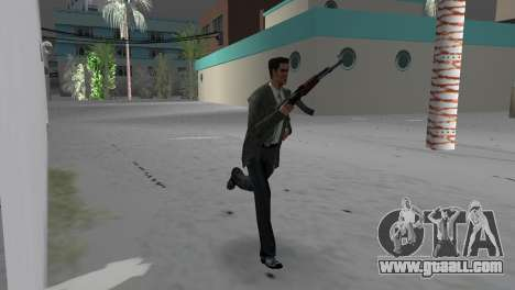 Kalashnikov for GTA Vice City third screenshot
