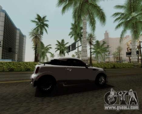 MINI Cooper S 2012 for GTA San Andreas side view
