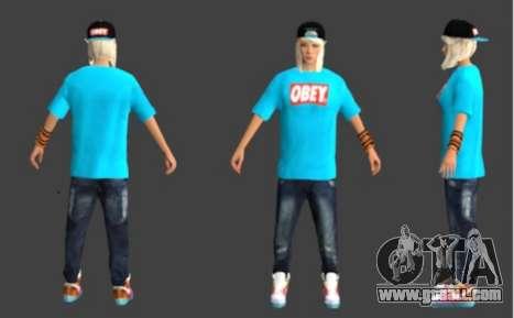 Pak skins girls for GTA San Andreas