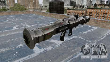 Anti-tank grenade launcher Crysis 2 for GTA 4 second screenshot