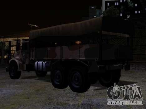 GTA V Barracks OL for GTA San Andreas left view
