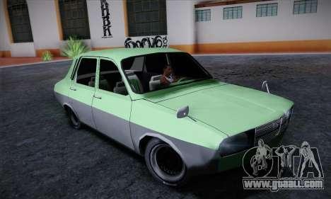 Dacia 1300 Retro Art for GTA San Andreas left view