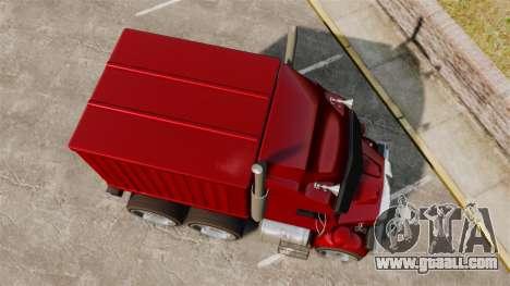 Mini truck for GTA 4 right view