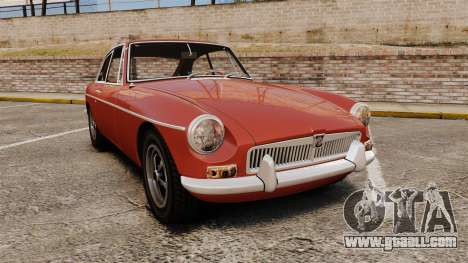 MG MGB GT 1965 for GTA 4
