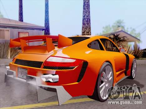 Porsche Carrera S for GTA San Andreas engine