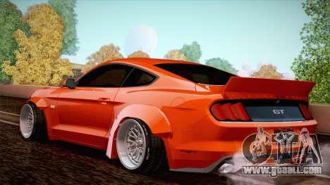 Ford Mustang Rocket Bunny 2015 for GTA San Andreas right view