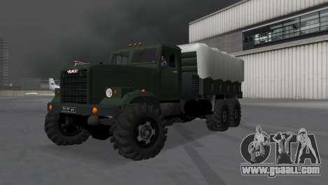 KrAZ 257 for GTA Vice City