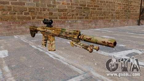 HK417 rifle for GTA 4