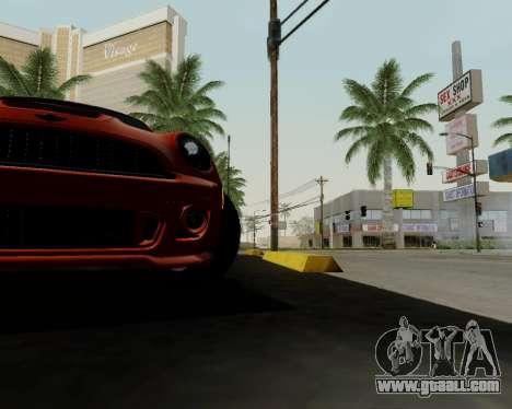 MINI Cooper S 2012 for GTA San Andreas engine