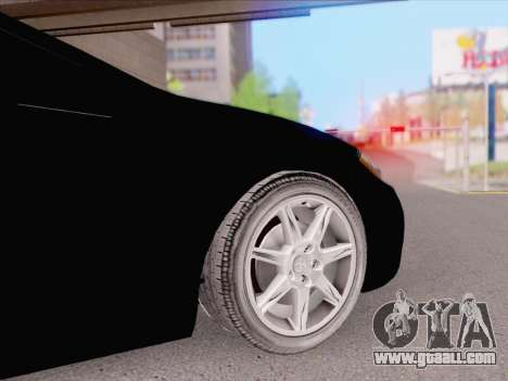 Mitsubishi Eclipse v4 for GTA San Andreas back left view