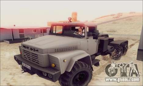 KrAZ 260v for GTA San Andreas