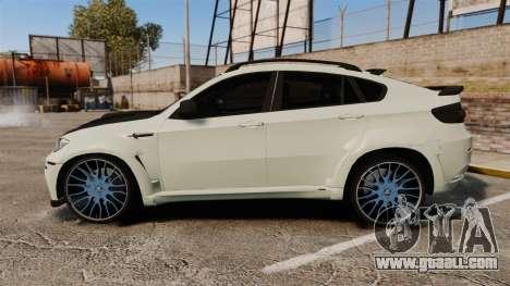 BMW X6 M HAMANN 2012 for GTA 4 left view