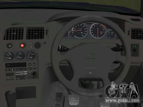 Nissan SKyline GT-R BNR33 for GTA Vice City back view