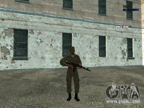 AIRBORNE Fighter for GTA San Andreas second screenshot