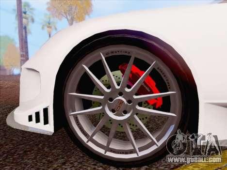 Porsche Carrera S for GTA San Andreas left view