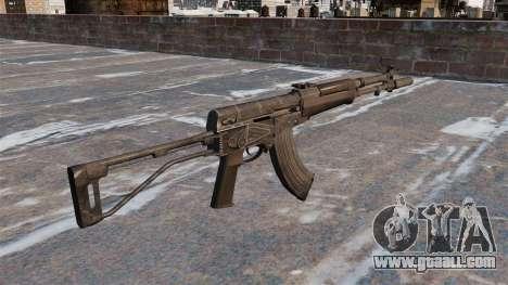 Automatic AEK-973 for GTA 4 second screenshot