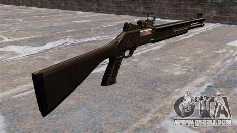 Tactical shotgun Fabarm SDASS Pro Forces for GTA 4 second screenshot