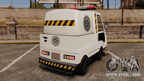 GTA SA Washer for GTA 4 back left view