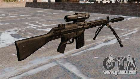 HK G3 automatic rifle for GTA 4 second screenshot