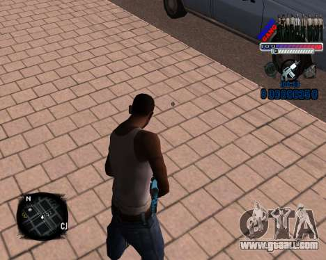 C-HUD Police Gang for GTA San Andreas second screenshot