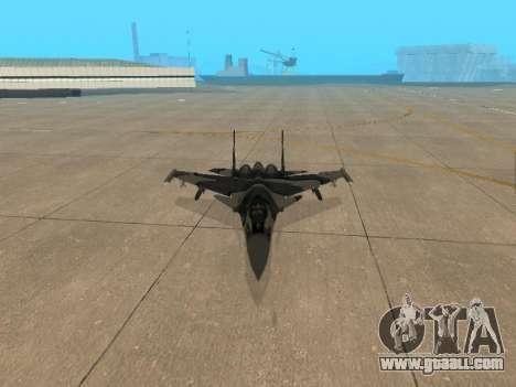 Su 33 for GTA San Andreas upper view