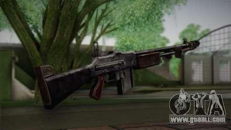 Browning M1918 for GTA San Andreas second screenshot