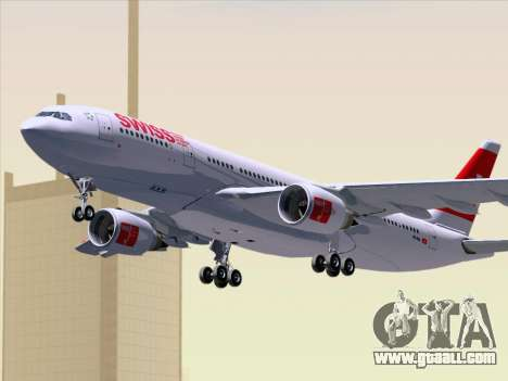 Airbus A330-223 Swiss International Airlines for GTA San Andreas inner view