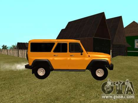 UAZ-3159 Bars for GTA San Andreas left view