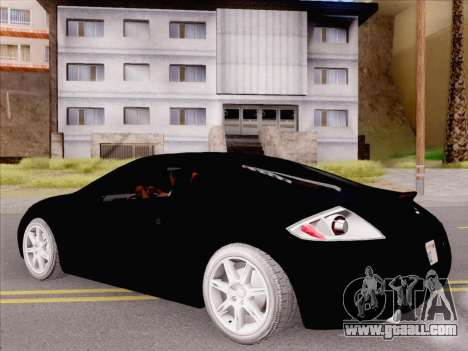 Mitsubishi Eclipse v4 for GTA San Andreas right view