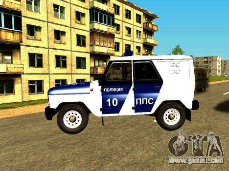 UAZ Hunter PPP for GTA San Andreas left view