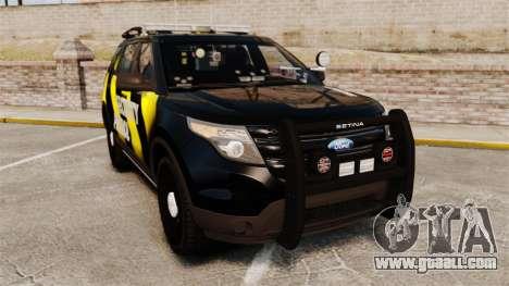 Ford Explorer 2013 Security Patrol [ELS] for GTA 4