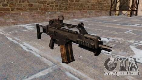 Tactical HK G36C assault rifle for GTA 4