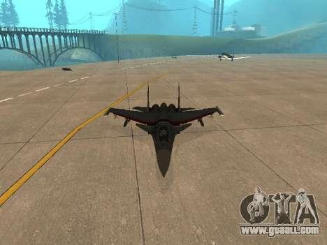Su 33 for GTA San Andreas right view