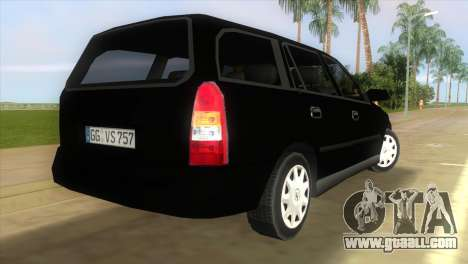 Opel Astra G Caravan 1999 for GTA Vice City left view