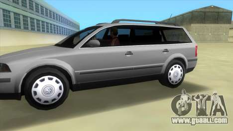 Volkswagen Passat B5+ Variant 1.9 TDi for GTA Vice City left view