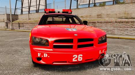 Dodge Charger LCFD Battalion Chief [ELS] for GTA 4