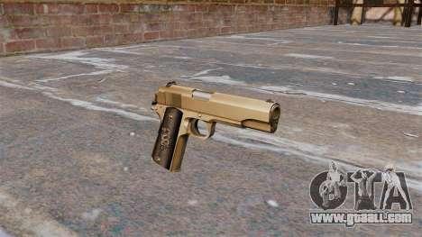 Colt M1911 Pistol for GTA 4