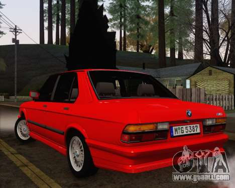 BMW M5 E28 for GTA San Andreas side view