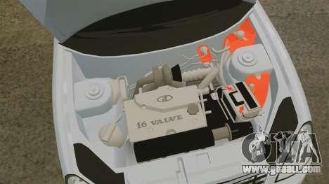 Vaz-2170 for GTA 4 inner view