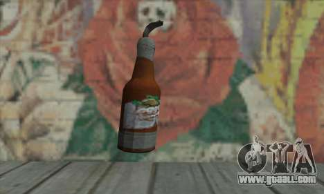 Molotov cocktail of GTA V for GTA San Andreas