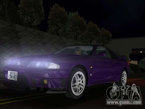 Nissan SKyline GT-R BNR33 for GTA Vice City